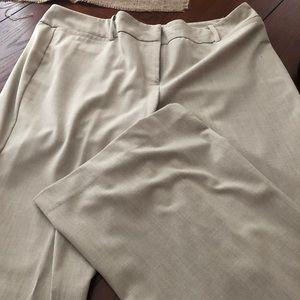 New York and company tan dress pants